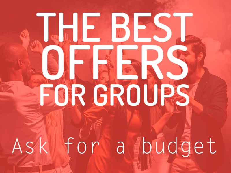 Groups booking in Barcelona